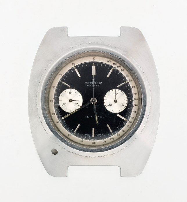 James Bond's Breitling Top Time wrist-watch