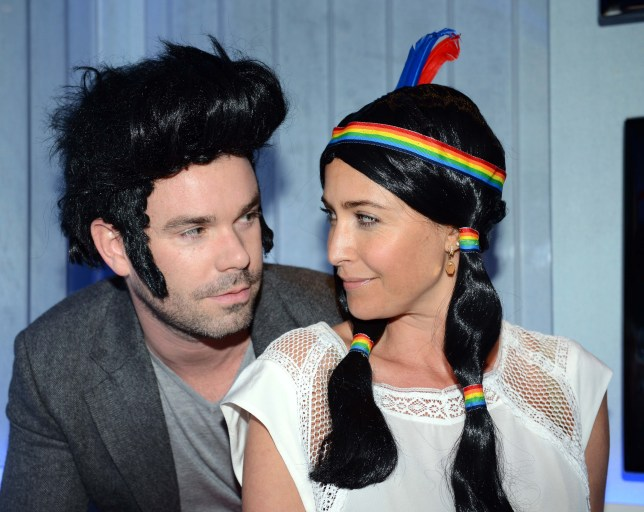 Hair peace: Dave Berry and Lisa Snowdon