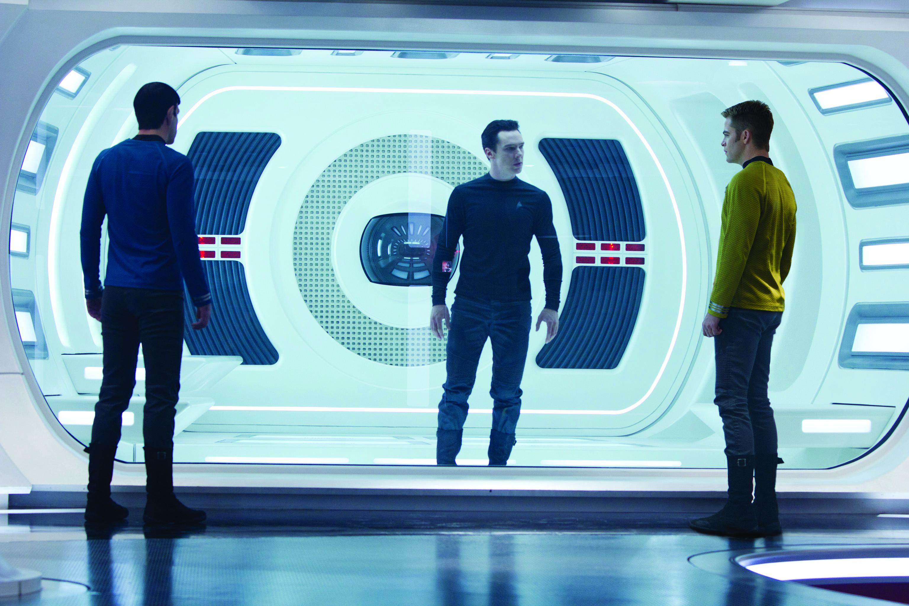 Star Trek Into Darkness is breathtaking rollercoaster that locks you in a Vulcan death grip