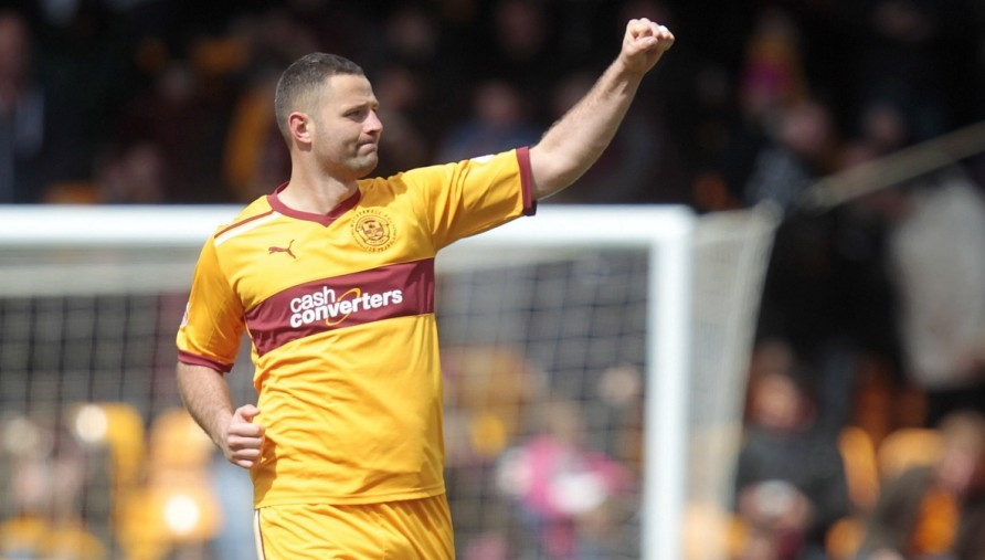 Motherwell striker Michael Higdon, arrested