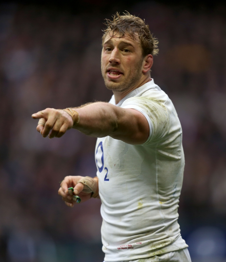 Chris Robshaw's Lions absence is a punch in the face, says former England skipper Phil Vickery