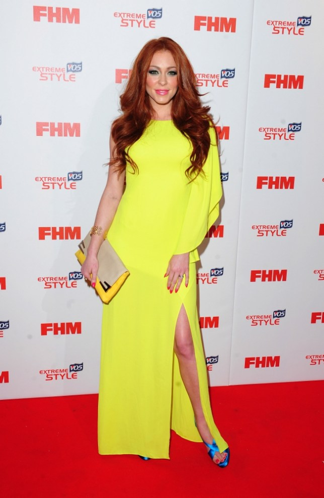 Natasha Hamilton arrives at FHM's 100 Sexiest Women in the World Party in association with VO5 Extreme Style at the Sanderson Hotel  in London. PRESS ASSOCIATION Photo. Picture date: Wednesday May 1, 2013. Photo credit should read: Ian West/PA Wire