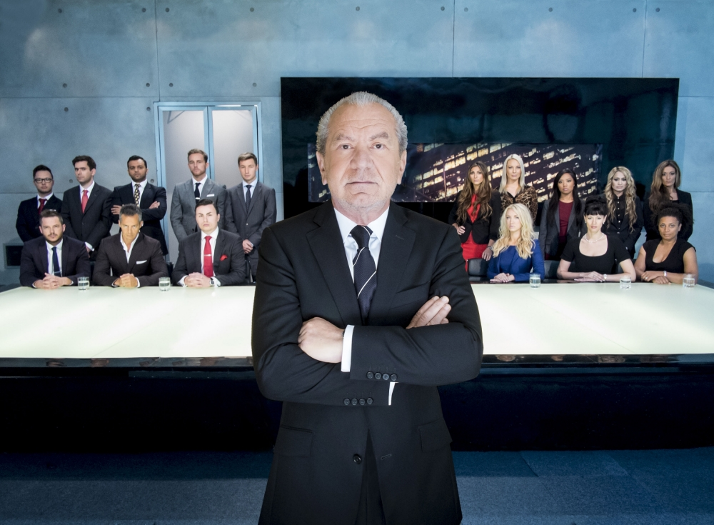 Sir Alan Sugar is back with a fresh batch of contestants on The Apprentice (Picture: Boundless)