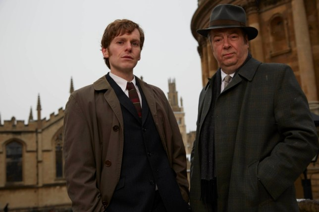 Shaun Evans and Roger Allam star in the compelling Endeavour (Picture: ITV)