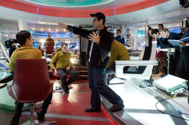 JJ Abrams on the set of Star Trek Into Darkness (Picture: Collection Christophel)