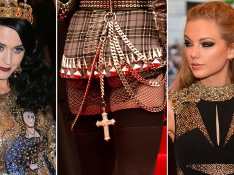 Gallery: Taylor Swift and Sienna Miller lead the way at punk-themed Met Gala 2013