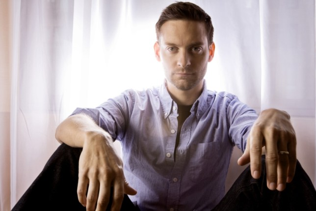 Actor Tobey Maguire plays Nick Carraway in the Baz Luhrmann's long-awaited Great Gatsby (Picture: Getty)