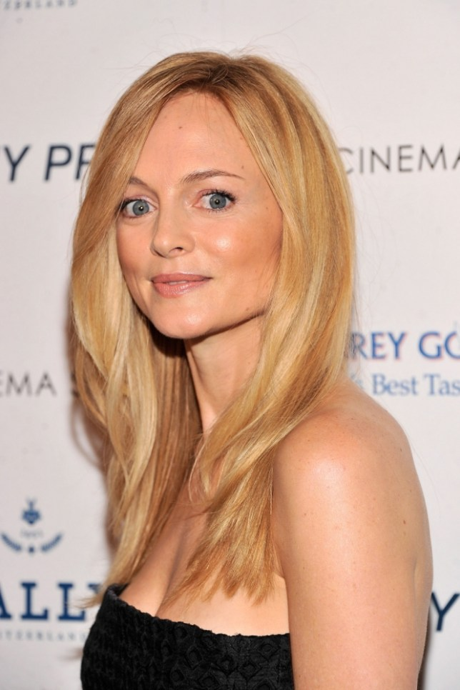 """NEW YORK, NY - APRIL 18:  Actress Heather Graham attends the Cinema Society & Bally screening of Sony Pictures Classics' """"At Any Price"""" at Landmark Sunshine Cinema on April 18, 2013 in New York City.  (Photo by Stephen Lovekin/Getty Images)"""