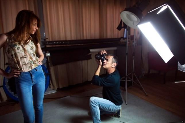 Israeli fashion photographer and model agent Adi Barkan