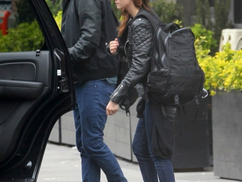 Robert Pattinson and Kristen Stewart jet out of New York after cosy jaunt
