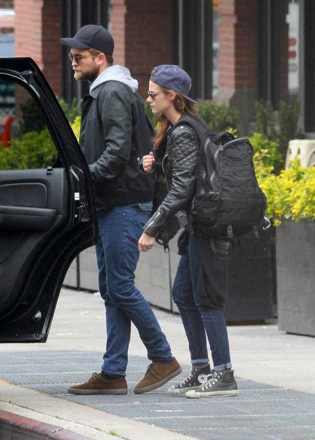 Robert Pattinson and Kristen Stewart in NYC