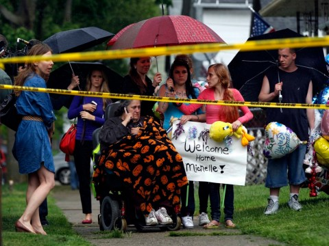 Ohio kidnap victim Michelle Knight in 'good spirits' after leaving hospital