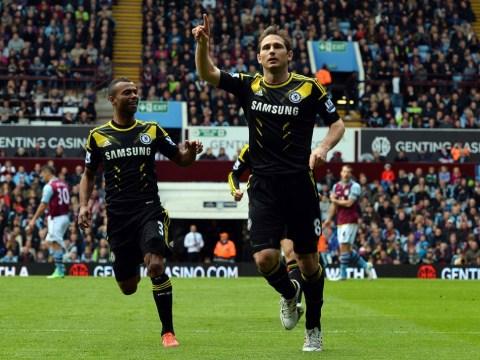 Frank Lampard breaks Chelsea scoring record in dramatic 2-1 win at Aston Villa
