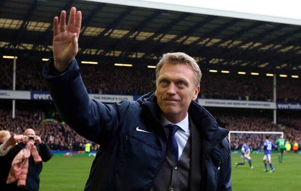 David Moyes given emotional send-off on final Everton appearance at Goodison Park