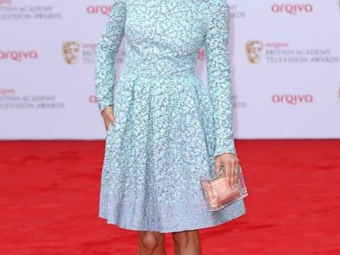 Bafta TV Awards: Sienna Miller 'I did not snog Cara!'