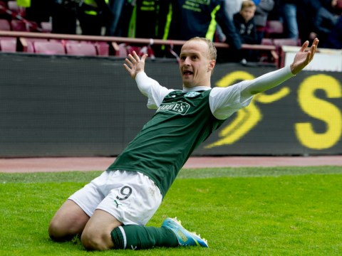 Wolves striker Leigh Griffiths insists he wants to stay at Hibs