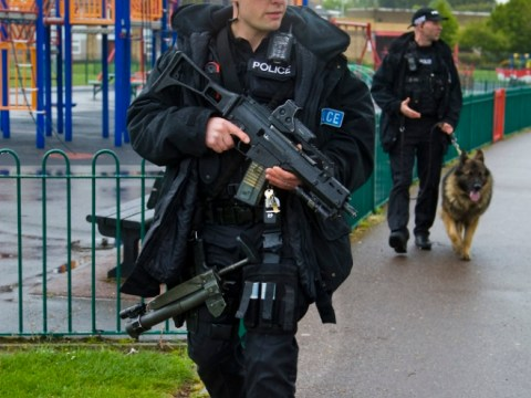 Man arrested over teen shooting as armed police patrol Luton estates