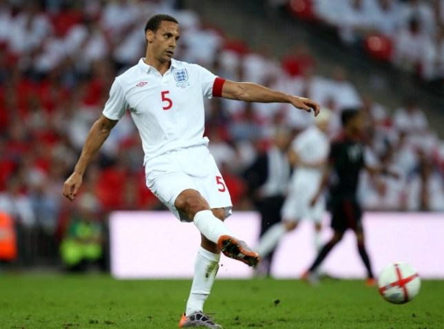 Football - England v Mexico - International Friendly - Wembley Stadium - 24/5/10  Rio Ferdinand - England   Mandatory Credit: Action Images / Scott Heavey