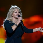 epa03701290 British singer Bonnie Taylor performs her entry 'Belive in me' during rehearsals of the 58th annual Eurovision Song Contest at the Malmo Arena, in Malmo, Sweden, 15 May 2013. The grand final will take place on 18 May.  EPA/JANERIK HENRIKSSON