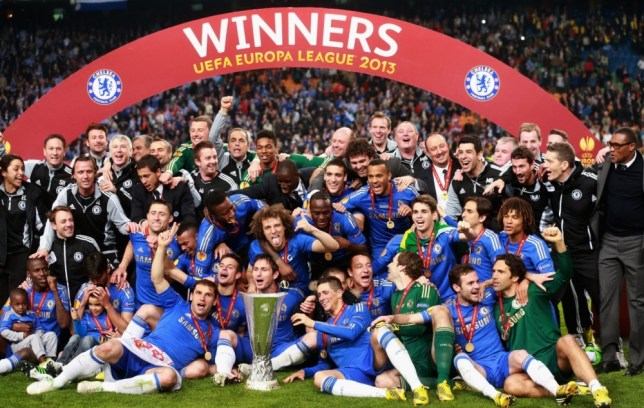 Europa League Winners