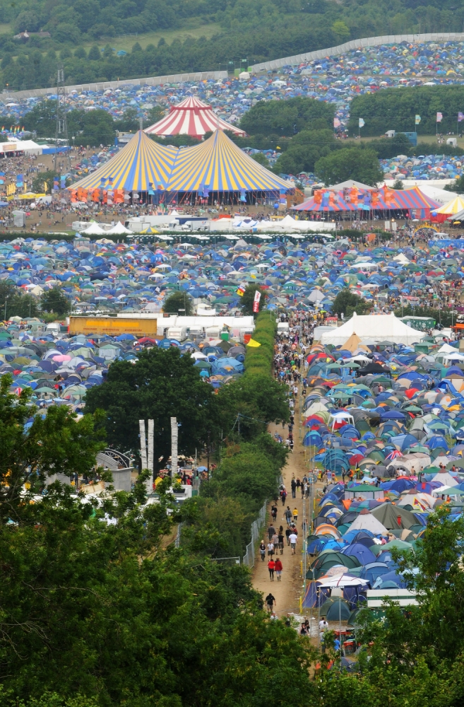 Top 10 things not to do at Glastonbury Festival