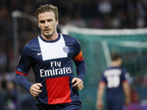 Gallery: David Beckham plays last game for PSG