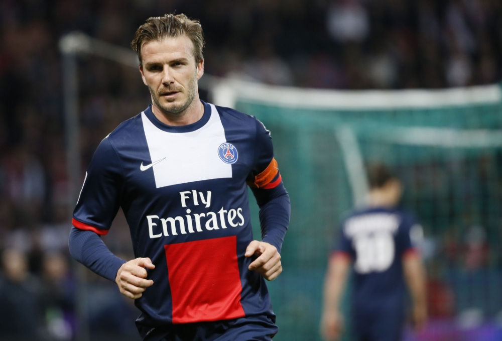 best service f0773 7516d Gallery: David Beckham plays last game for PSG | Metro UK