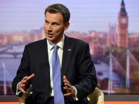 Jeremy Hunt insists Conservative party 'absolutely united' over Europe