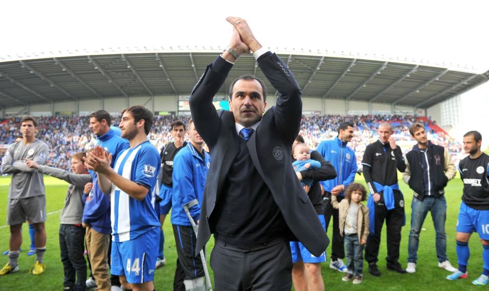 Roberto Martinez set for Everton talks after quitting Wigan