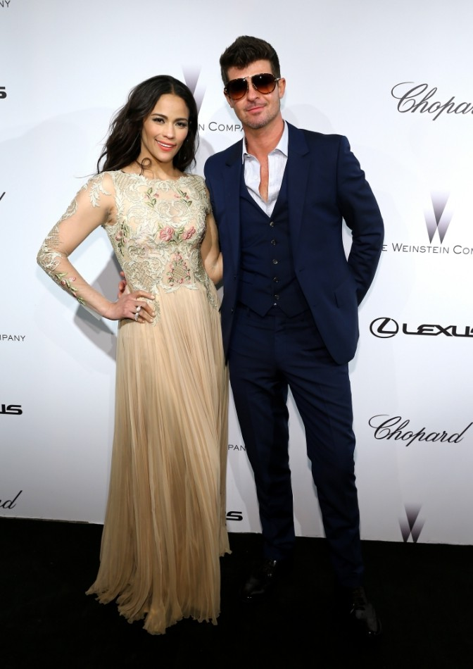 That didn't take long: Robin Thicke propositioned by female fan he 'grabbed' after last-ditch attempt to save his marriage failed