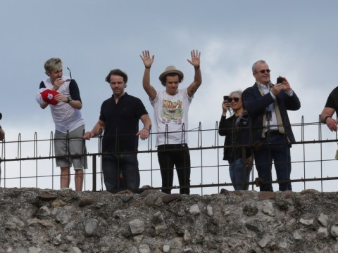 One Direction stand on history as they perform from Italian landmark