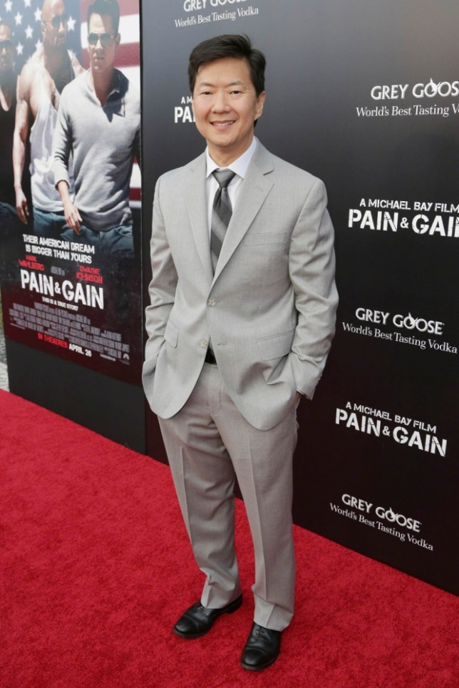 Ken Jeong plays Mr Chow in The Hangover Part III (Picture: Troy Rizzo/FilmMagic)