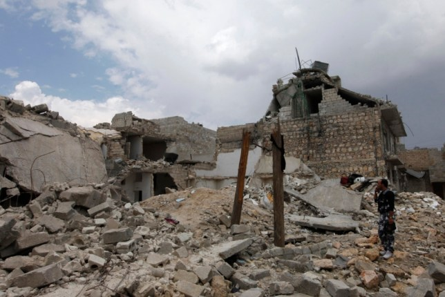 William Hague wants option to arm Syrian rebels