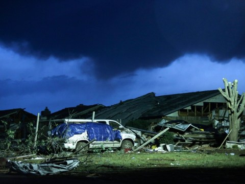 In pictures: Oklahoma City suburb of Moore struck by devastating tornado