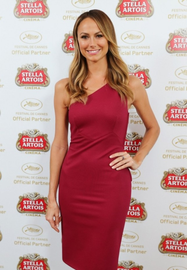CANNES, FRANCE - MAY 22:  Stacy Keibler visits The Stella Artois Suite during The 66th Annual Cannes Film Festival at Radisson Blu on May 22, 2013 in Cannes, France.  (Photo by Neilson Barnard/Getty Images for Stella Artois)