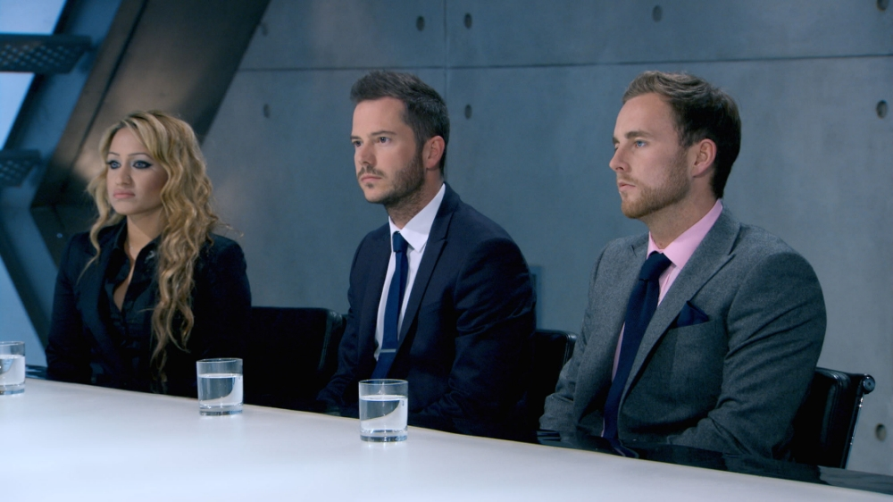 Inflated egos were brought back down to reality in The Apprentice
