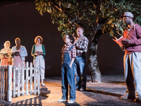 A simple set and fantastic performances make To Kill A Mockingbird a joy to watch
