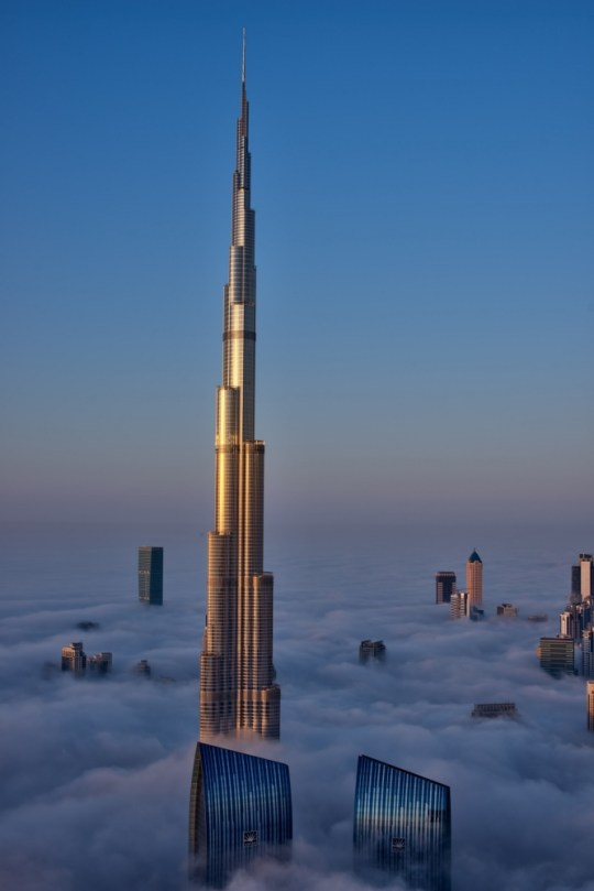 Burj Khalifa pictures: Dizzying views from the world's
