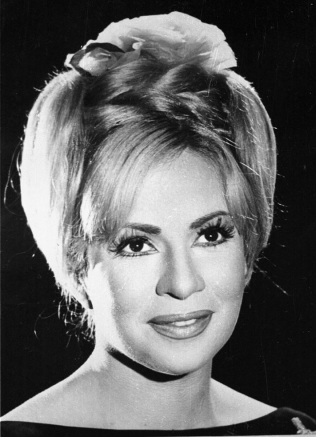 Egyptian movie star Hind Rostom (Picture: AFP/Getty Images)