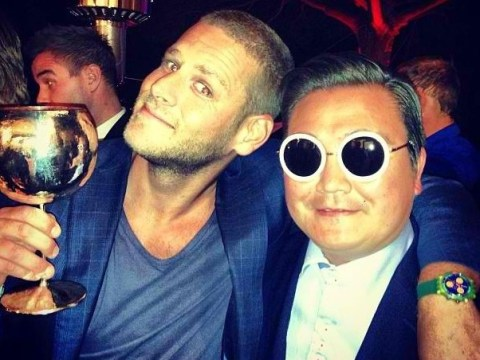 Fake Gangnam Style star 'Psy' lives it up in Cannes with stars