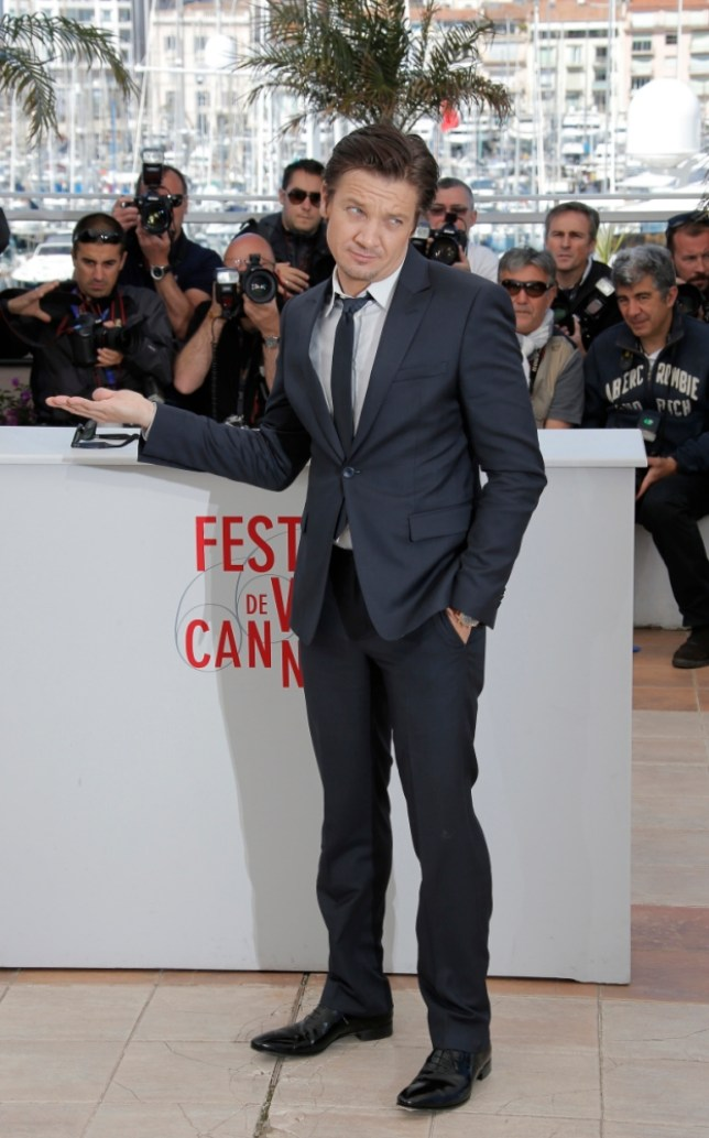 Actor Jeremy Renner poses for photographers during a photo call for the film The Immigrant at the 66th international film festival, in Cannes, southern France, Friday, May 24, 2013. (AP Photo/Lionel Cironneau)