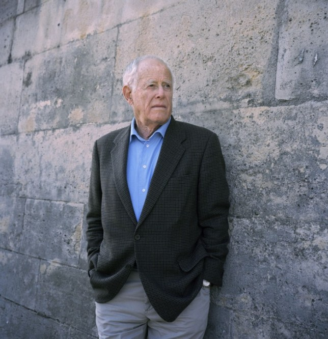 James Salter had been planning his latest novel for ten years (Picture: Rex)