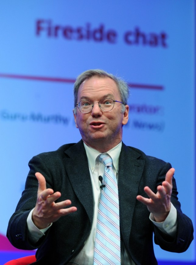 Google box Eric Schmidt 'perplexed' by tax row