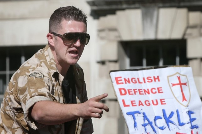 Tommy Robinson: English Defence League leader arrested on Lee Rigby tribute march