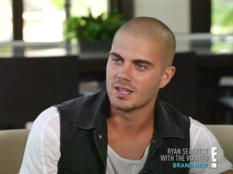Max George jokes about becoming a daddy in seven months' time after saucy bedroom encounter on The Wanted Life
