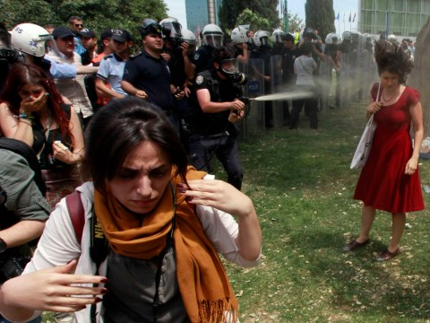 The Woman in Red: 'Icon' of Turkey's protests a reluctant hero
