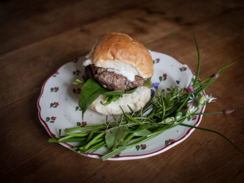 Cook this tonight: Lavender, honey and lamb in a bun
