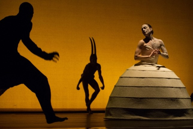 Akram Khan Company presents new production iTMOi (Picture: Rex)