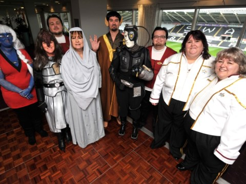 Boldly going to court: Benefits cheat Anita Wood caught out by her Star Trek wedding