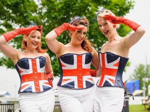 Gallery: Epsom Derby Ladies' Day 2013
